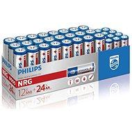 Baterie Philips LR036G36W/10, 24+12 ks v balení
