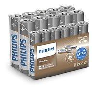 Baterie Philips LR036A16F/10, 10+6 ks v balení - Baterie