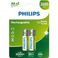 Philips R6B2A260 2 ks v balení - Nabíjecí baterie
