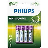 Philips R03B4A95 4 ks v balení - Nabíjecí baterie