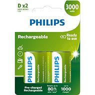Philips R20B2A300 2 ks v balení - Nabíjecí baterie
