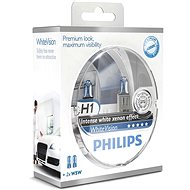 PHILIPS H1 WhiteVision, 55W, patice PX26d, 2ks - Autožárovka