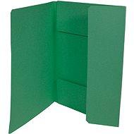 HIT OFFICE A4 Ekonomik 253 (á 50ks) - zelené - Desky na dokumenty