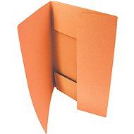 HIT OFFICE A4 Classic 253 (á 50ks) - oranžové - Desky na dokumenty