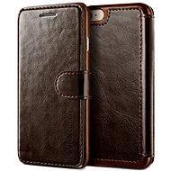 Verus Dandy Layered Leather Case pro iPhone 7/8 hnědé - Pouzdro na mobilní telefon