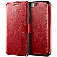 Verus Dandy Layered Leather Case pro iPhone 7/8 vínovo-černé - Pouzdro na mobilní telefon