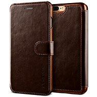 Verus Dandy Layered Leather Case pro iPhone 7/8 Plus hnědé - Pouzdro na mobilní telefon