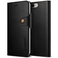 Verus Native Diary pro iPhone 7/8 Plus černé - Pouzdro na mobilní telefon