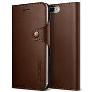 Verus Native Diary pro iPhone 7/8 Plus tmavě hnědé - Pouzdro na mobilní telefon