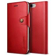 Verus Native Diary pro iPhone 7/8 Plus vínový - Pouzdro na mobilní telefon