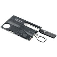 Pocket knife Victorinox Swiss Card Lite Translucent black - Knife