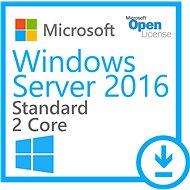WinSvrSTDCore 2016 SNGL OLP 2Lic NL CoreLic - Operační systém