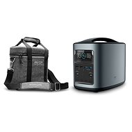 EcoFlow RIVER370 Portable Power Station Black + Element Proof Protective Case