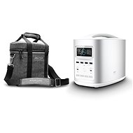 EcoFlow RIVER370 Portable Power Station Silver + Element Proof Protective Case