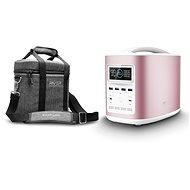 EcoFlow RIVER370 Portable Power Station Pink + Element Proof Protective Case - Nabíjecí stanice