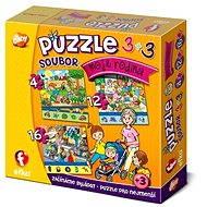 Moje rodina 3v1 - Puzzle
