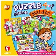 Můj den 4v1 - Puzzle