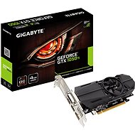GIGABYTE GeForce GTX 1050 Ti OC Low Profile 4G - Grafická karta