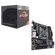 Akční balíček  GIGABYTE B450 AORUS M + CPU AMD RYZEN 5 2400G - Set