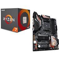 Akční balíček  GIGABYTE AORUS X470 Ultra Gaming + CPU AMD RYZEN 7 2700X - Set