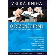 Velká kniha o řízení firmy - Elektronická kniha