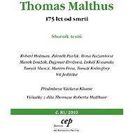 Thomas Malthus - Elektronická kniha