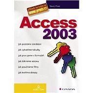 Access 2003 - Elektronická kniha
