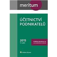 Meritum Účetnictví podnikatelů 2015 - Elektronická kniha