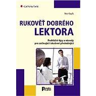 Rukověť dobrého lektora - Elektronická kniha