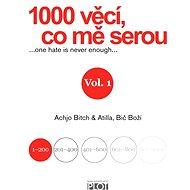 1000 věcí, co mě serou 1 - Elektronická kniha