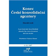 Konec České konsolidační agentury - Elektronická kniha