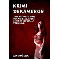 Krimi DEKAMERON - Elektronická kniha