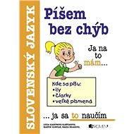 Píšem bez chýb (SK) - Elektronická kniha