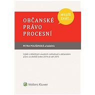 Musíš znát... Občanské právo procesní - Elektronická kniha