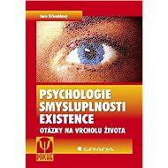 Psychologie smysluplnosti existence - Elektronická kniha
