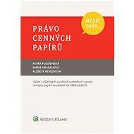 Musíš znát... Právo cenných papírů - Elektronická kniha