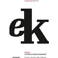Čtení o Elišce Krásnohorské - Elektronická kniha