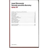 Smutek poručíka Borůvky (spisy - svazek 29) - Elektronická kniha