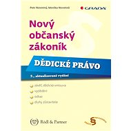 Nový občanský zákoník - Dědické právo - Elektronická kniha