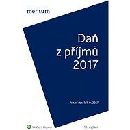 Meritum Daň z příjmů 2017 - Elektronická kniha