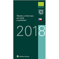 Tabulky a informace pro daně a podnikání 2018 - Elektronická kniha