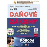 Daňové zákony 2018 ČR XXL ProFi - kolektiv editorů