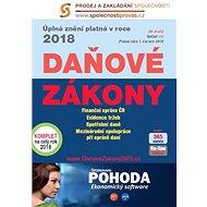 Daňové zákony 2018 ČR XXL ProFi (díl druhý) - editorů kolektiv