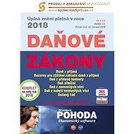 Daňové zákony 2018 ČR XXL ProFi (díl první, druhé vydání) - kolektiv autorů