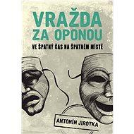 Vražda za oponou - Elektronická kniha