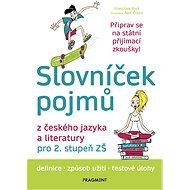 Slovníček pojmů z českého jazyka a literatury pro 2. stupeň ZŠ - Elektronická kniha