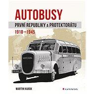Autobusy první republiky a protektorátu - Elektronická kniha