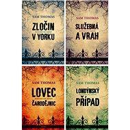 4 historické krimi romány Sama Thomase za výhodnou cenu - Elektronická kniha -  Sam Thomas