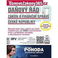 Daňový řád / Zákon o Finanční správě ČR 2020 s komentářem změn - Elektronická kniha