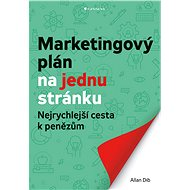 Marketingový plán na jednu stránku - Dib Allan, 224 stran